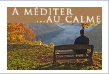 Citations, prières... à méditer au calme